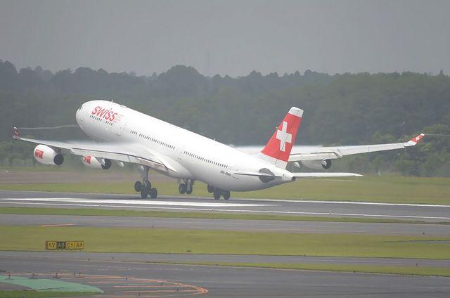 スイス航空 A340-300