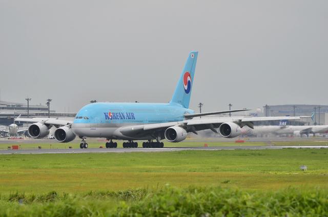 KE A380 LDG 4