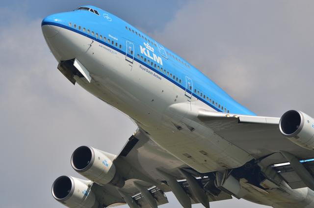 KLM B744 4