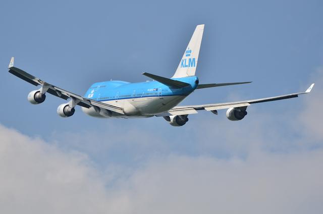 KLM B744 7