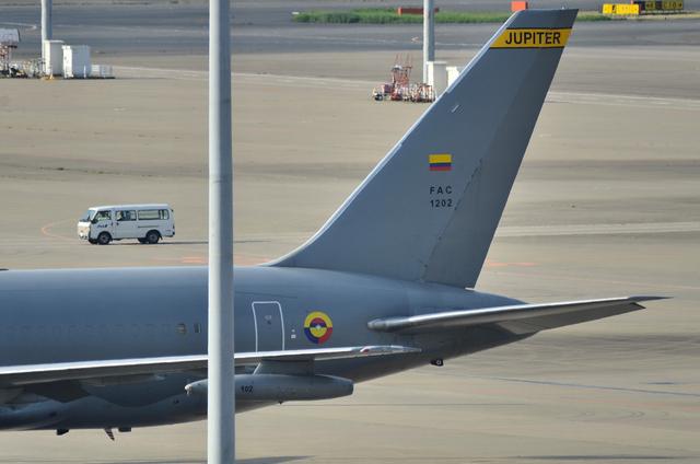 コロンビア大統領の飛行機 3
