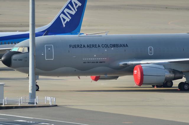 コロンビア大統領の飛行機 2