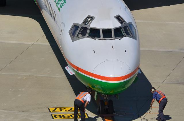 エバー航空 MD90