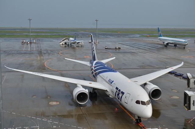 767とモヒカンジェット
