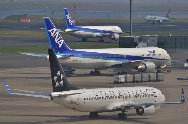 737と767×2