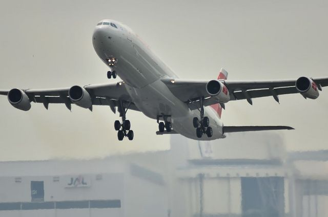 SWISS A340 3