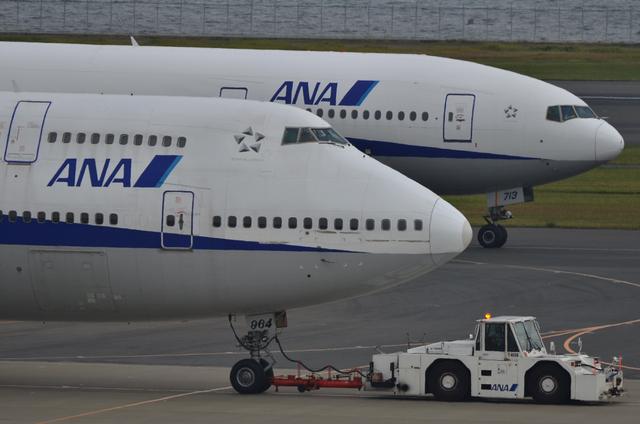 747と777 横顔