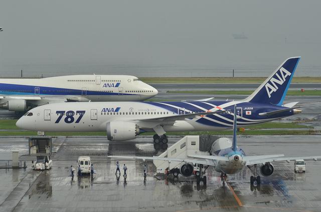 Boeing787とジャンボとA320