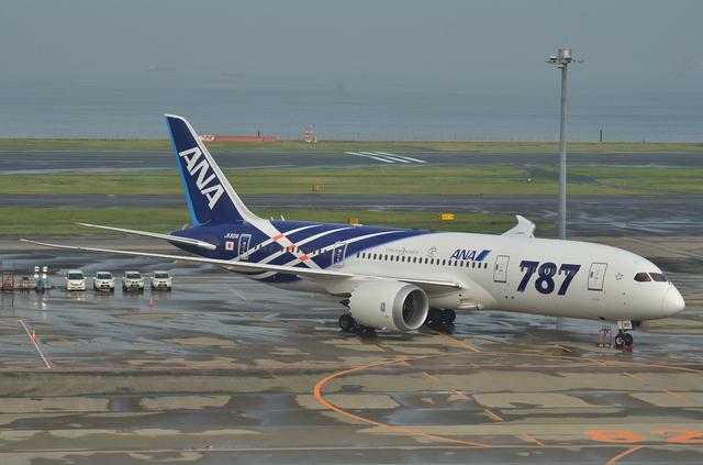 ANA Boeing787就航