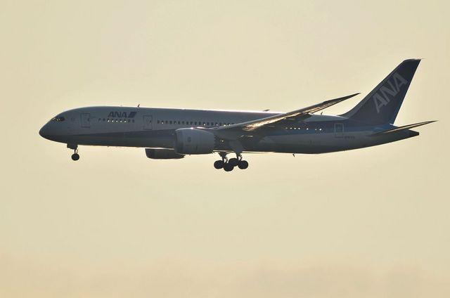 Boeing787の初めての羽田アプローチ