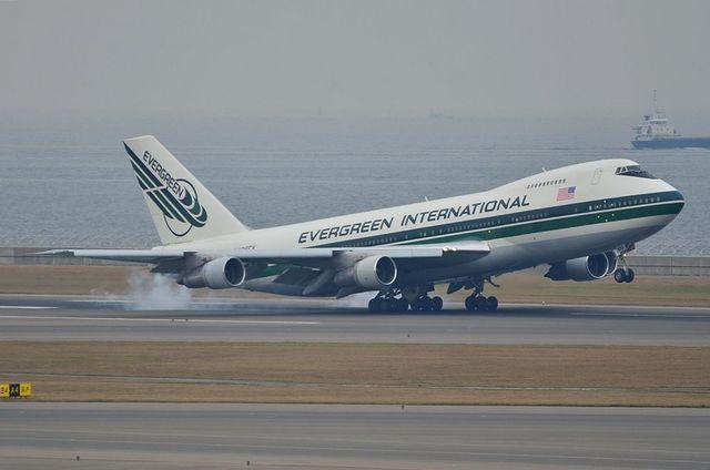 Evergreen B747F 2