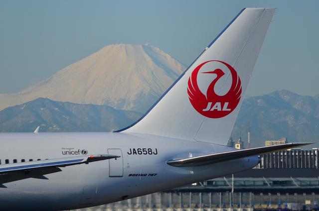 新鶴丸と富士山