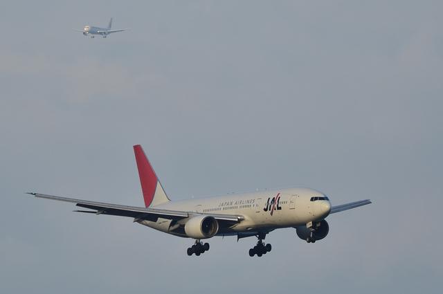 JAL B777とB767