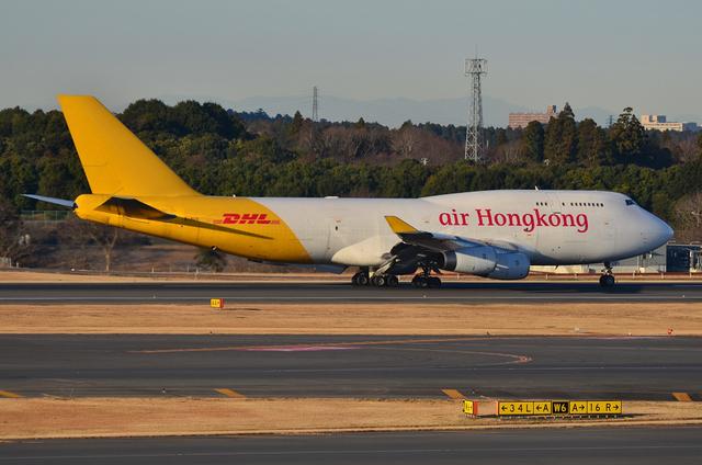 DHL B747 3