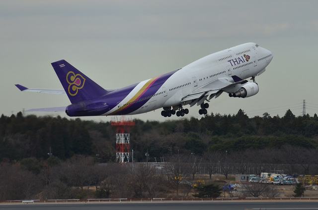タイ国際航空 B747
