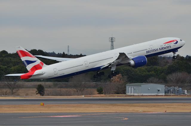 英国航空 B777