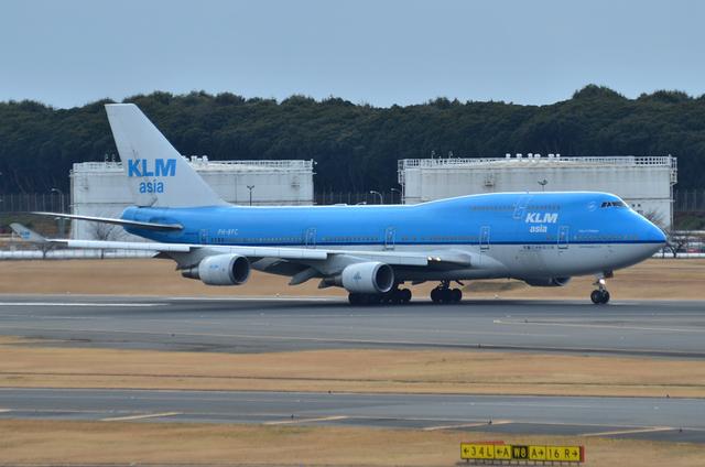 KLM B744 6