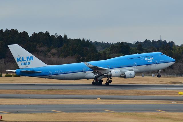 KLM B744 8
