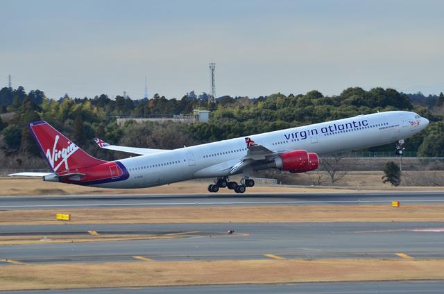 ヴァージンアトランティック航空 A340