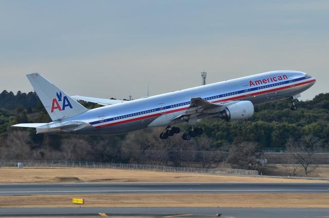 アメリカン航空 B777