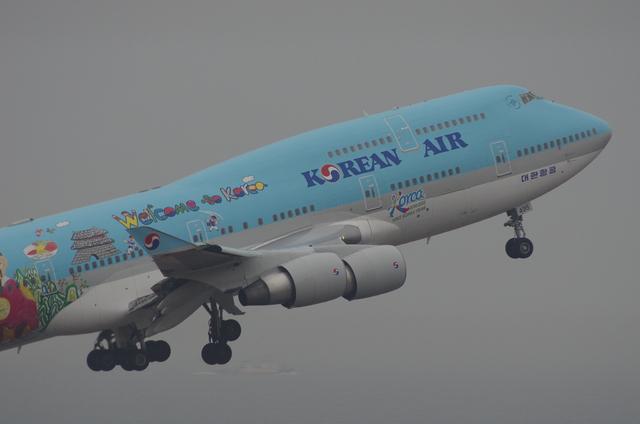KE B744 7