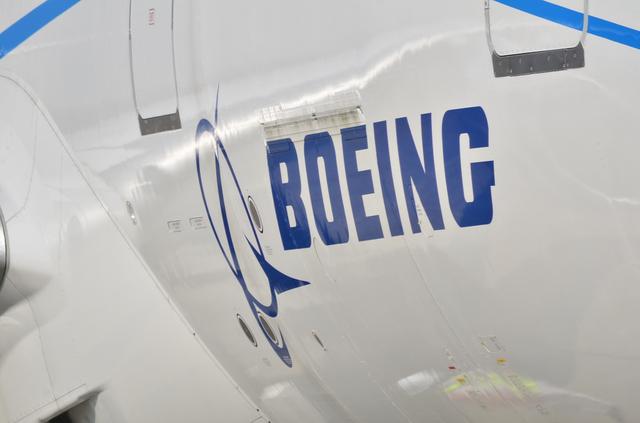 B787 Boeingロゴ