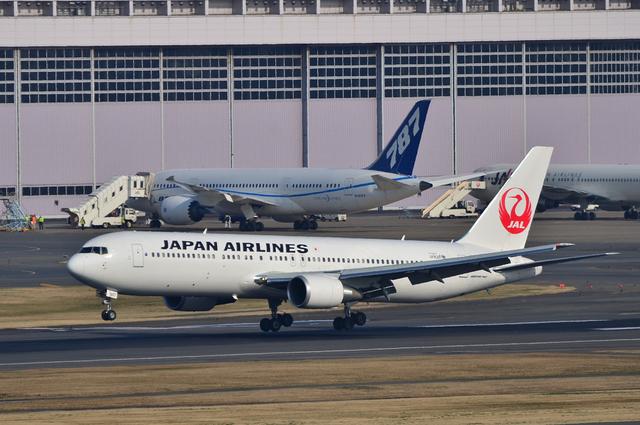 JAL B767 新鶴丸