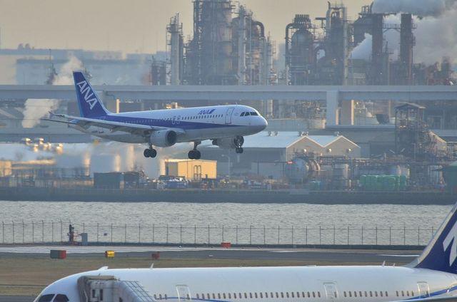 787とANAのA320