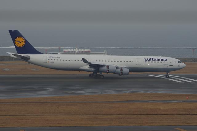 LH A340 Landing