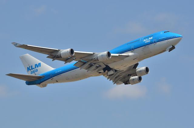 KLM B747 3