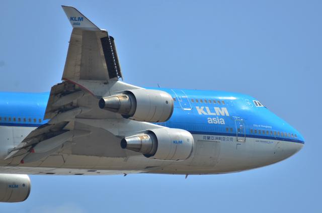 KLM B747 5