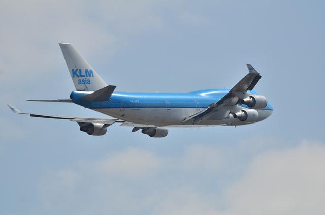 KLM B747 6