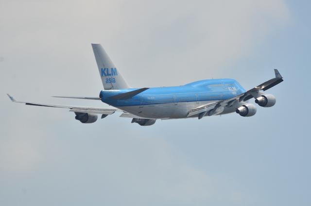 KLM B747 7