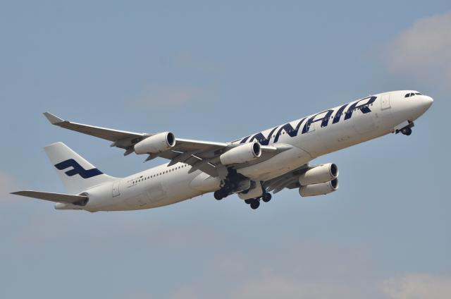 フィンランド A340 2