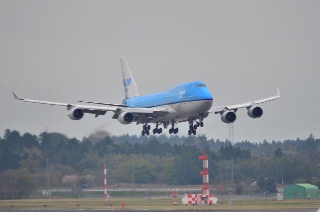 KLM B744 1