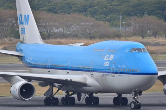 KLM B744 5