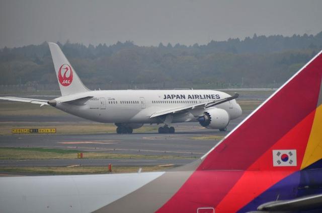 JAL B787 2