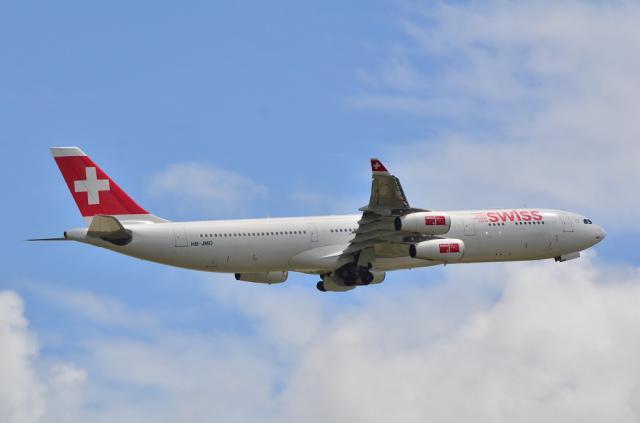 SWISS A340 4