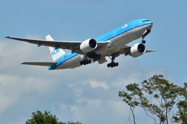 KLM B777 1