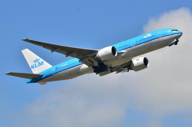 KLM B777 2