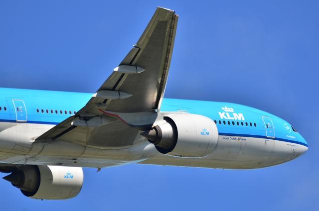 KLM B777 3