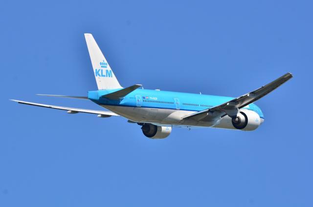 KLM B777 4