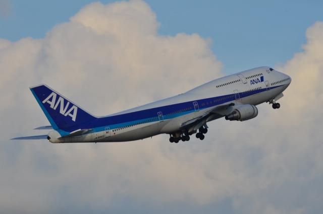 ANA B747 8