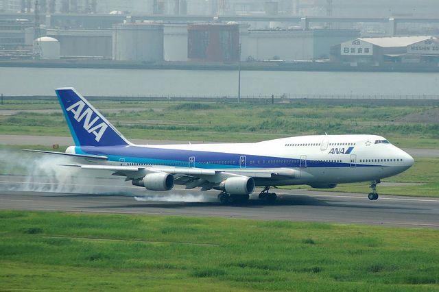ANA Boeing747