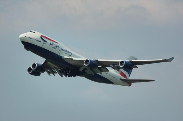 British Airways Boeing747-400